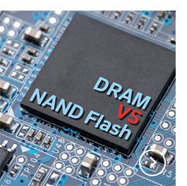 D램 VS 낸드플래시 무엇이 어떻게 다를까?