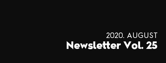 2020. JULY Newsletter Vol. 25